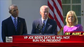 Joe Biden: Window to run for president