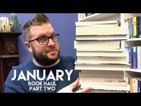 January Book Haul | Part Two | 2018