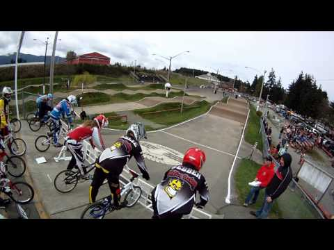 First Race of the 2013 Season @ Nanaimo BMX