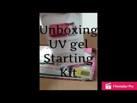 Unboxing a UV Gel starter kit
