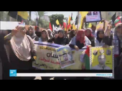 مسيرات تضامنية مع الأسرى الفلسطينيين تتحول إلى مواجهات مع الجيش الإسرائيلي  - 13:21-2017 / 4 / 19