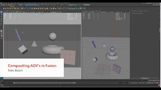 Maya - Compositing In Fusion