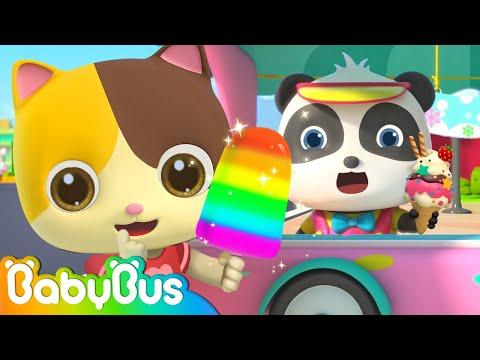 Baby Panda's Ice Cream Truck | Ice Pop, Ice Cream, Cake, Donuts | Dessert Carnival | BabyBus