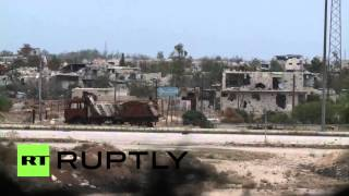 Syria: Damascus troops exchange fire with militants in Ghouta