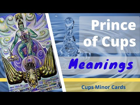 Book of Thoth Prince of Cups tarot meanings