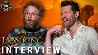 Baixar The Lion King Exclusive Interviews with Seth Rogen, Billy Eichner and More