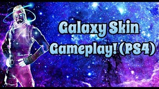 Galaxy Skin Gameplay! | Solo Grind #SoaRRC | Fortnite PS4 Livestream w/ Facecam