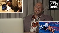 Tyson Fury watches the entire 12th round against Wilder for the first time