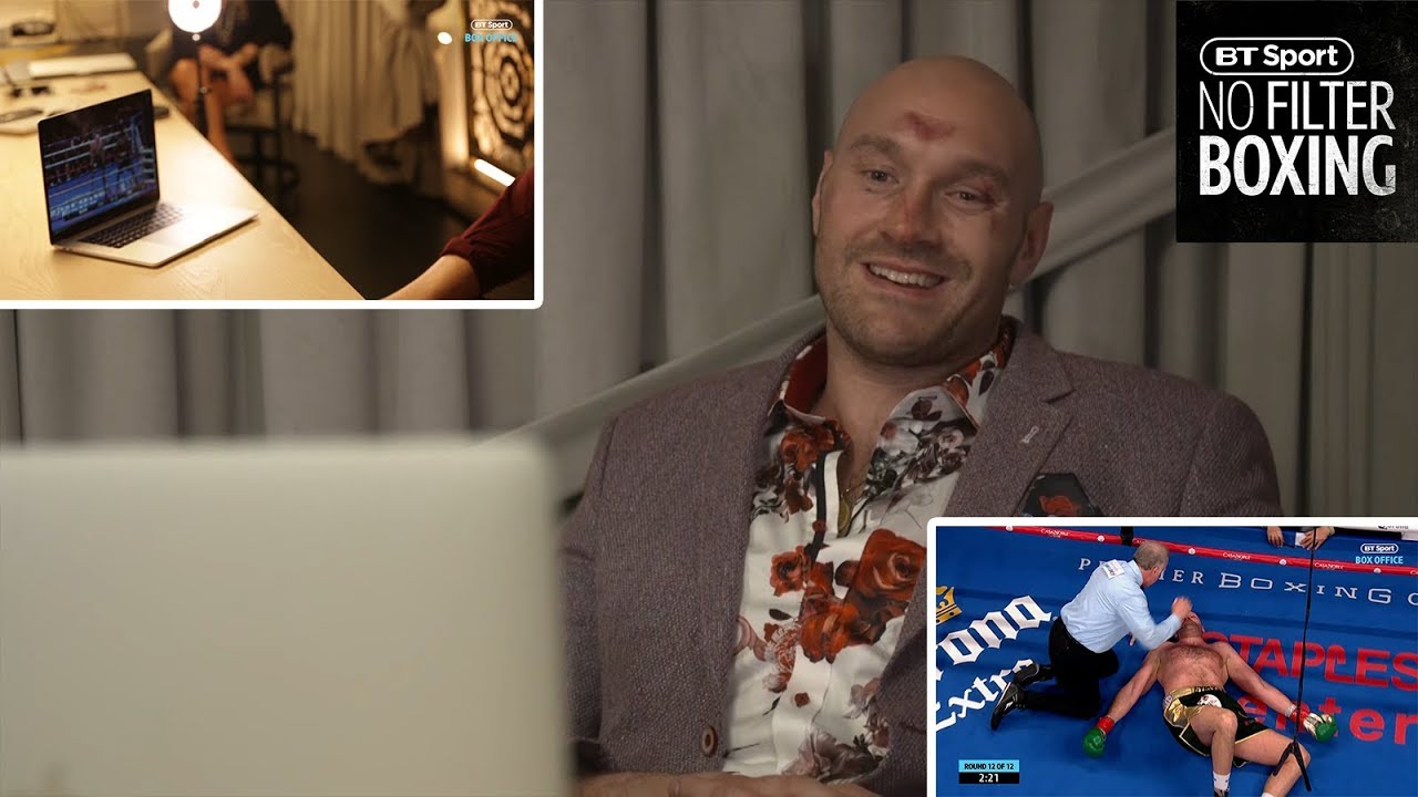 Download Tyson Fury watches the entire 12th round against Wilder for the first time