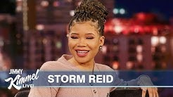 Storm Reid's Hotel Room Got Destroyed By Monkeys
