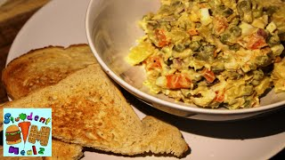 Russian Olivier Salad Recipe || Рецепт: Салат Оливье
