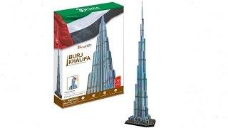 """Burj Khalifa"" - Puzzle 3D"