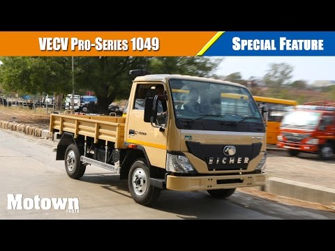 VECV Pro series 1049 light commercial truck review