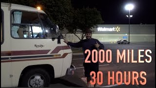 2000 MILES - 30 HOURS - 40 YEAR OLD GMC MOTORHOME