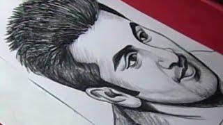 How to Draw Film Hero RANBIR KAPOOR Drawing