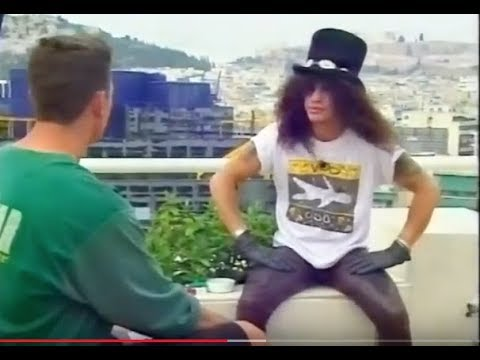 Guns N' Roses Slash On Playing With Izzy Again & His Reunion in 1993