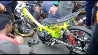 vuclip Dragbike Cilacap Scrut jupiter 200cc juara
