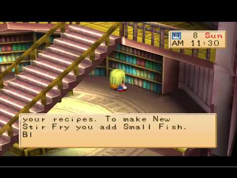 Harvest Moon Back To Nature Girl - Unique Recipes