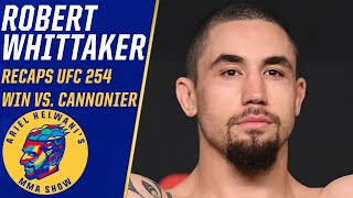 Robert whittaker won't campaign for title shot because it'll happen inevitably | espn mma