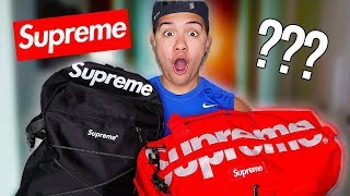 I BOUGHT SUPREME LOST LUGGAGE AT AUCTION! (PLAYSTATION FOUND)