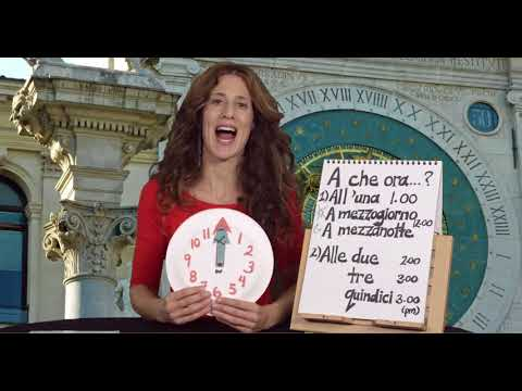 Learn Italian for Travel : At what time..? (A che ora..?)