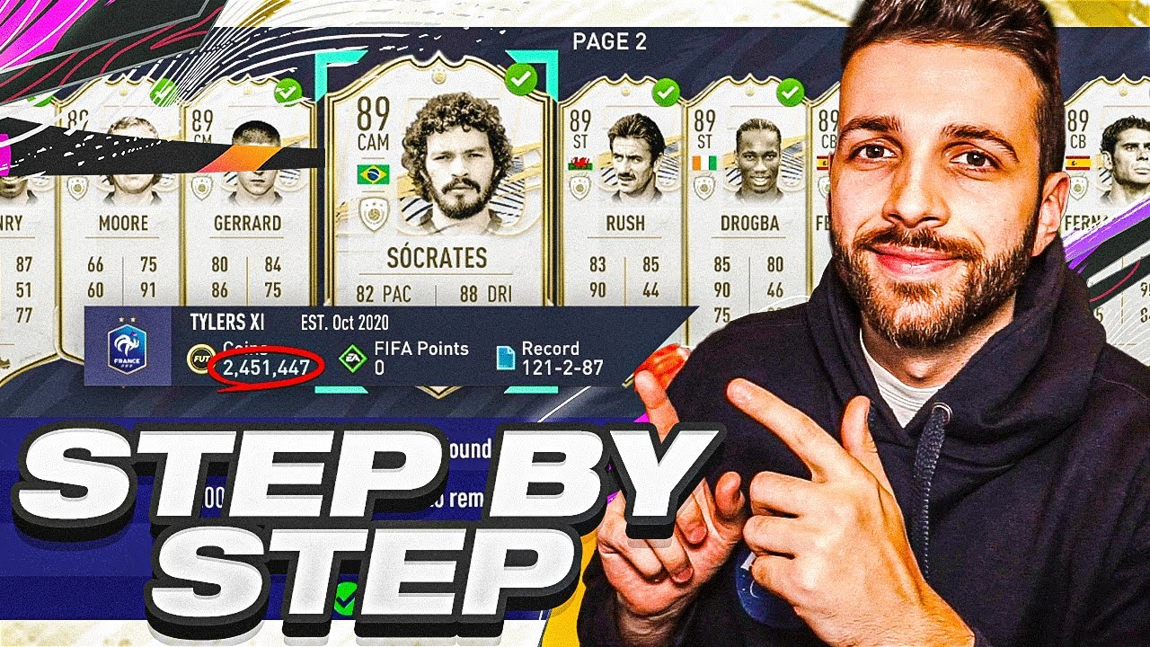 HOW TO MAKE MILLIONS TRADING ICONS!! - STEP BY STEP GUIDE (FIFA 21 Trading Tutorial)