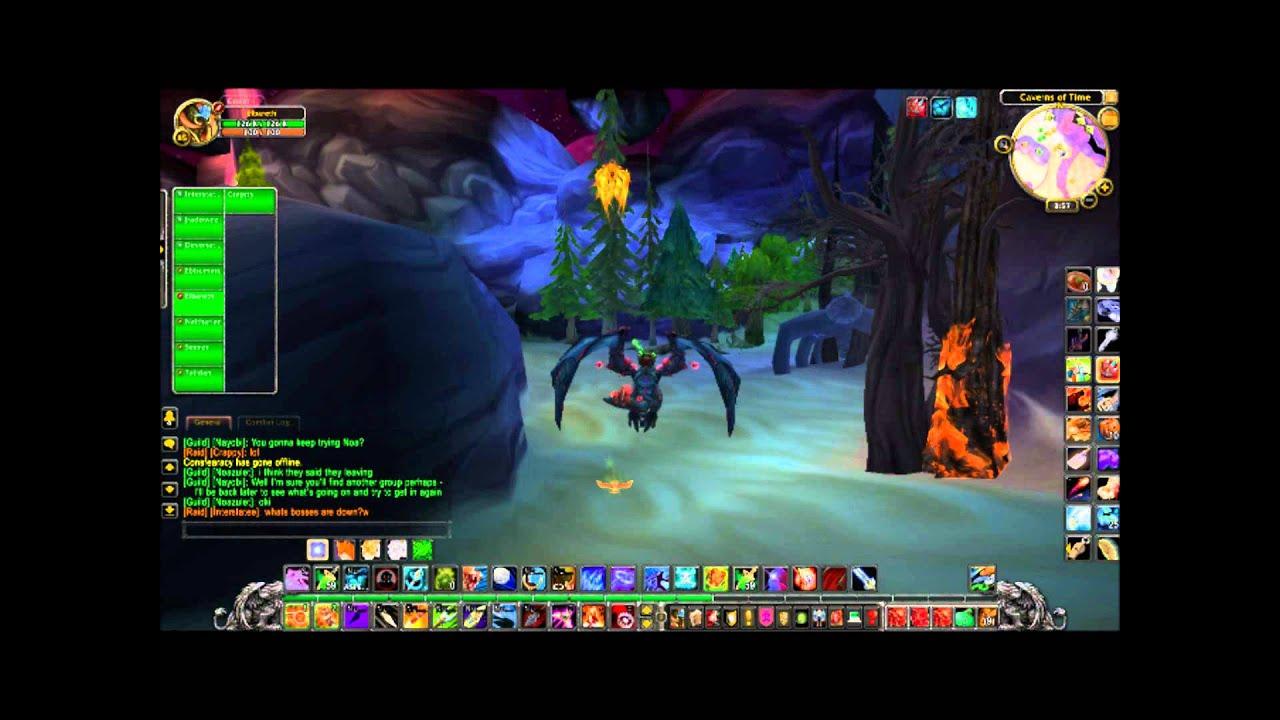 Dragon Soul Raid Location: Entrance To Dragon Soul Raid 4.3 PTR