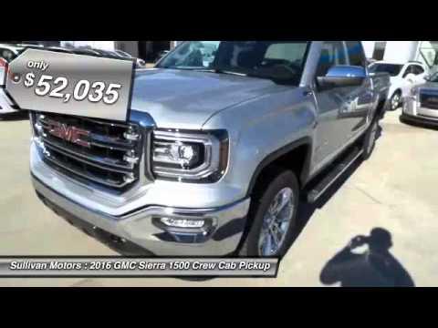 2016 Gmc Sierra 1500 Sullivan Motors Collins Ms 122865
