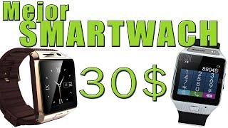 SMARTWATCH con MEJOR CALIDAD PRECIO - 30 dolares, con cámara y llamadas