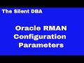 Oracle RMAN Configuration Parameters
