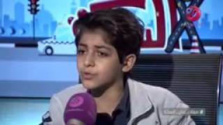 الطفل المعجزة  محمد نبيل  يغني  مش باقى منى  لأحمد سعد