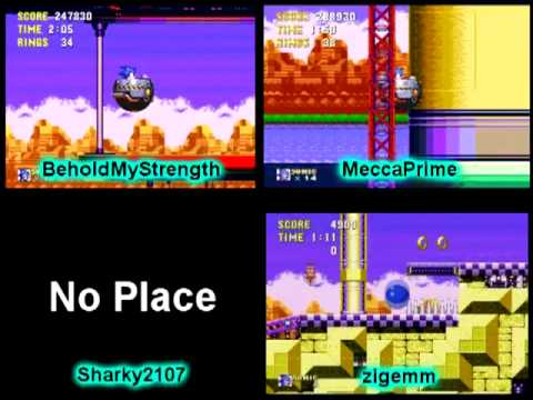 Sonic the Hedgehog Megarace [21] - Launch Base Zone |