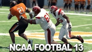 NCAA Football 13 Gameplay - No Stopping Barry