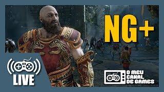 [Live] God of War (PS4 Pro) - NEW GAME + AO VIVO