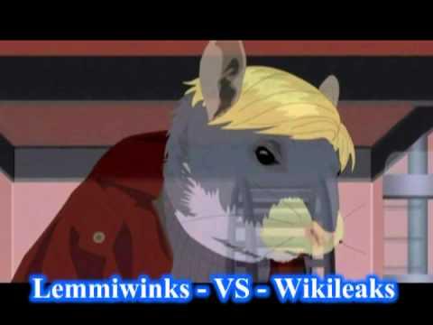 south park - lemmiwinks x wikileaks - song