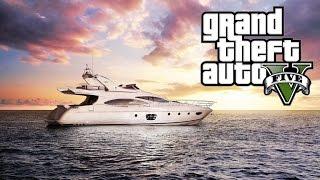 الحياة الواقعية - الذهاب الي اليخت Grand Theft Auto V PC