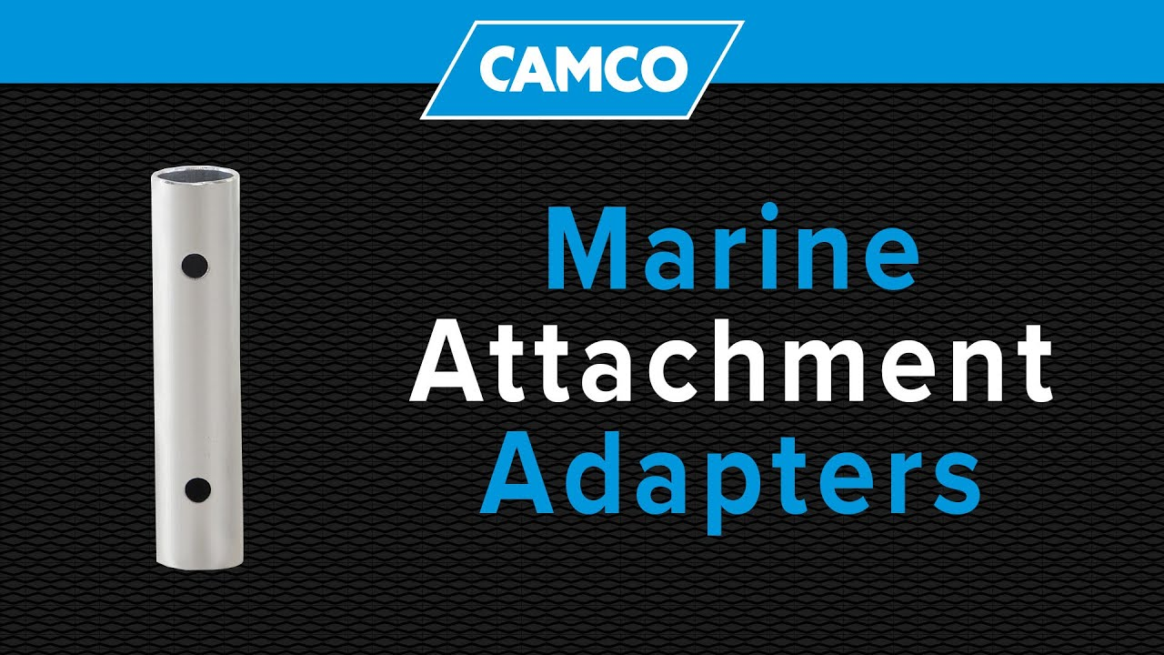 Camco Marine Attachment Adapter Youtube