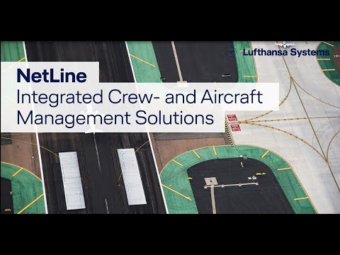 Integrated aircraft and crew resource planning with NetLine / Lufthansa Systems