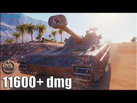 Статюга на шведском СТ 11к урона ✅ World of Tanks UDES 15/16 лучший бой