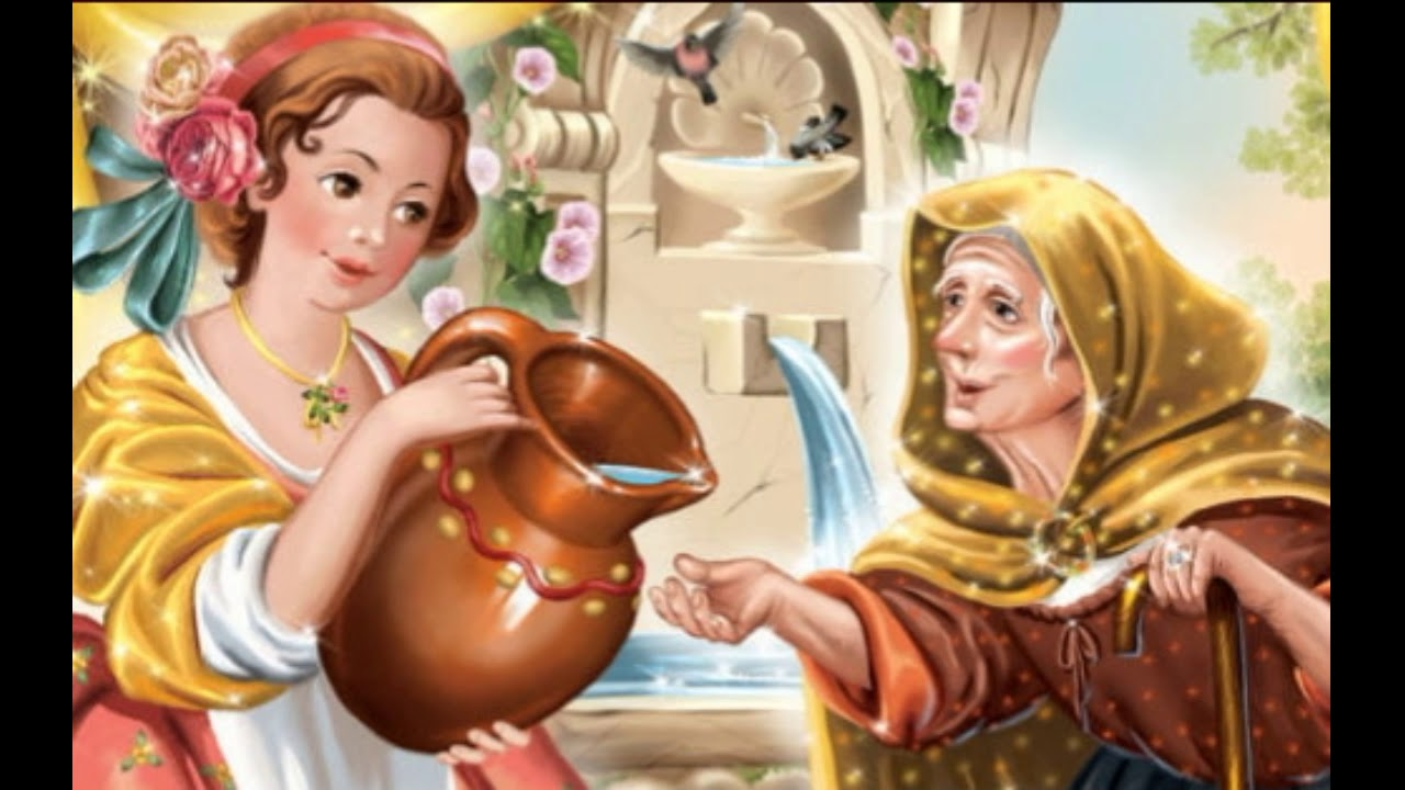 Картинки к сказке подарки феи шарля перро