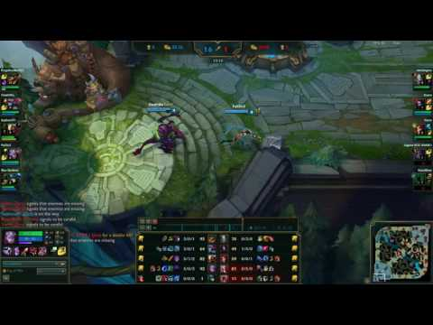 League of Legends - Full Varus Gameplay (part 1 featuring Blue Bamboo)