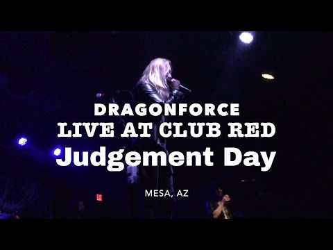 DragonForce - Judgement Day(Live at Club Red) Mesa, Az July 9, 2017
