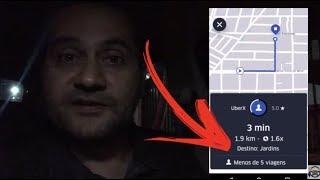 FINALMENTE a Uber mostra o DESTINO dos Passageiros