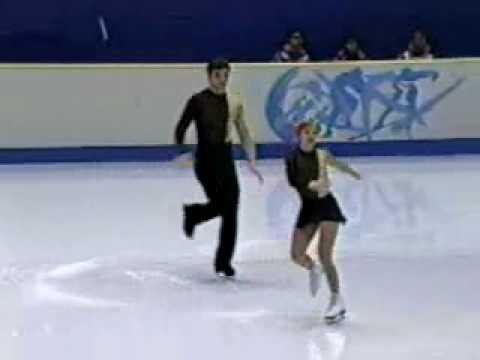 Елена Бережная и  Антон Сихарулидзе - 1998.wmv