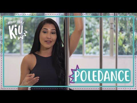 Thaynara OG vira dançarina de poledance por um dia | #21 | Minha Vida é KIU  | Thaynara OG