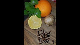 Рецепт супер чая! Имбирный чай с гвоздикой.