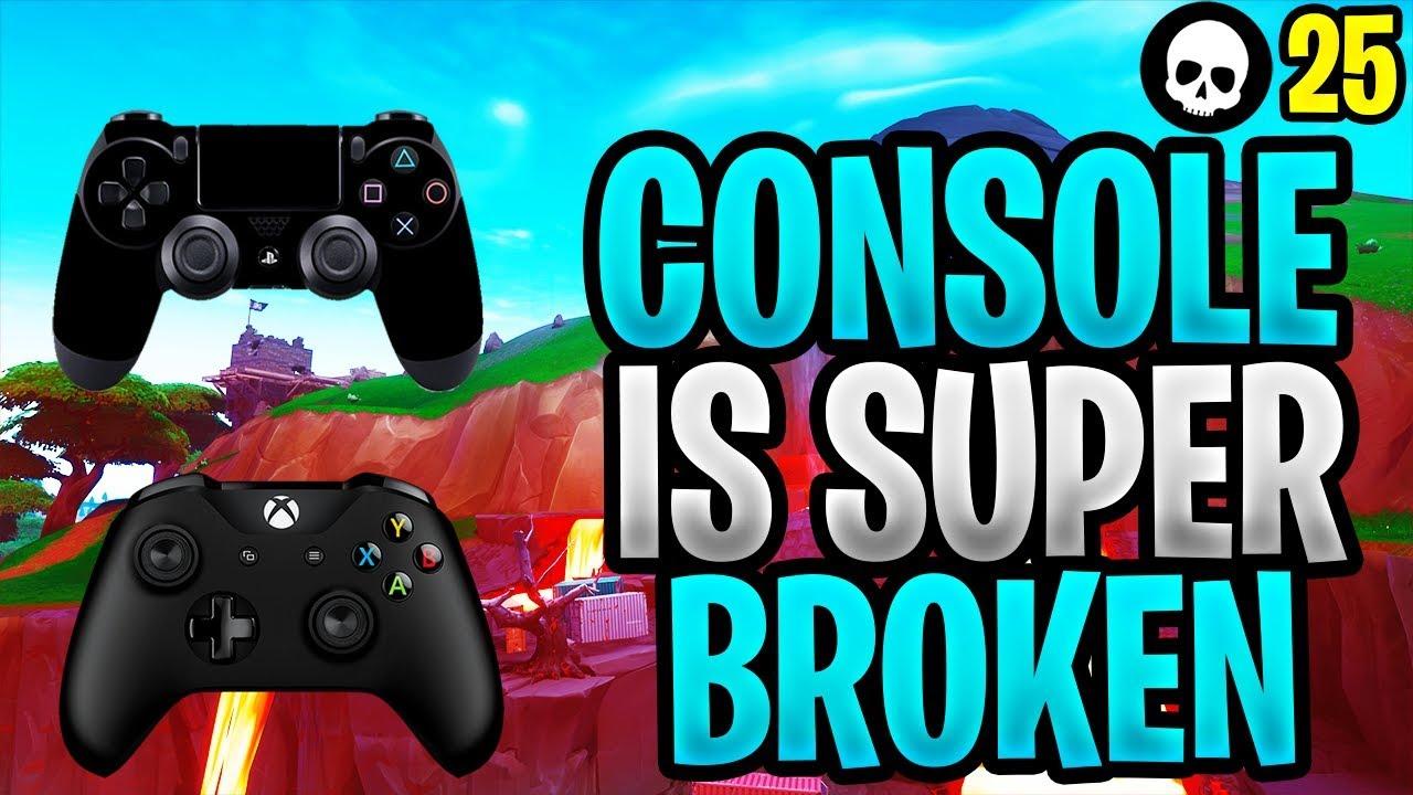 Console Controller Fortnite ist mehr als je zuvor! (PS4 / Xbox Fortnite - Staffel 8) + video