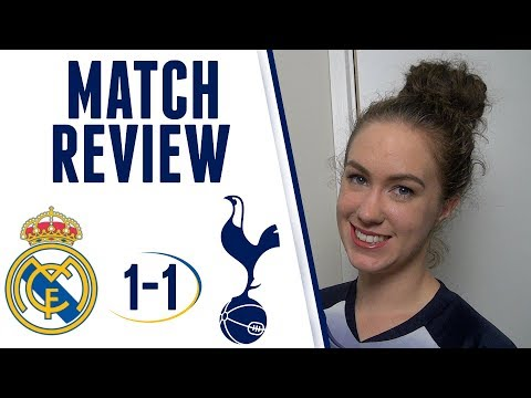 """MATCH REVIEW: Real Madrid 1-1 Spurs 