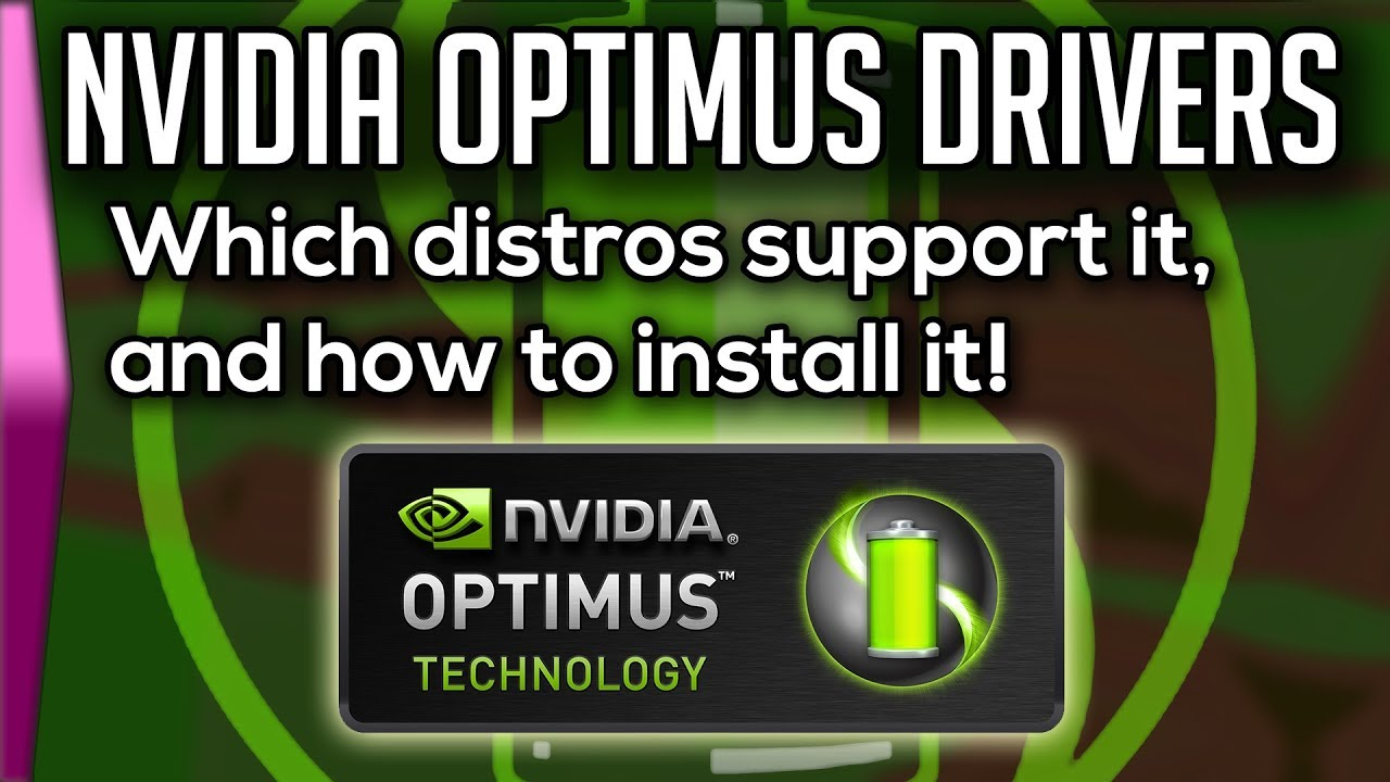 Installing Nvidia Optimus in Linux