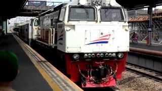 KA Cirebon Express vs KA Barang Kontainer Petikemas